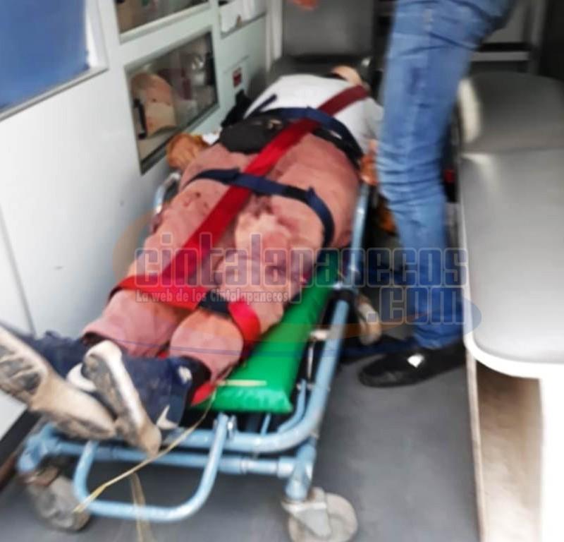 el-lesionado-fue-llevado-al-hospital