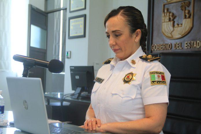 • Gabriela Zepeda formó parte de este ejercicio realizado por el Comité Internacional de la Cruz Roja, en el que participaron 18 países y 255 personas