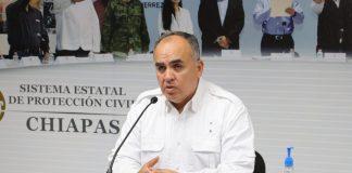 Luis Manuel García Moreno, Secretario de Protección Civil en Chiapas