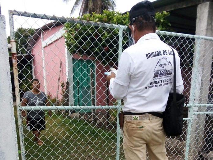Más de 2 mil familias entrevistadas en Mapastepec para detectar posibles casos de Covid-19