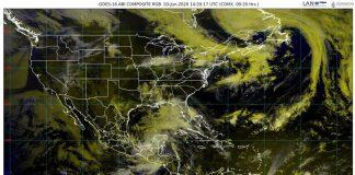 El Servicio Meteorológico Nacional (SMN) de la Comisión Nacional del Agua (Conagua) establece nueva zona de vigilancia por efectos de tormenta tropical desde Coatzacoalcos, Veracruz hasta Campeche, Campeche.